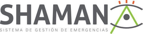 logo shaman software gestión de emergencias